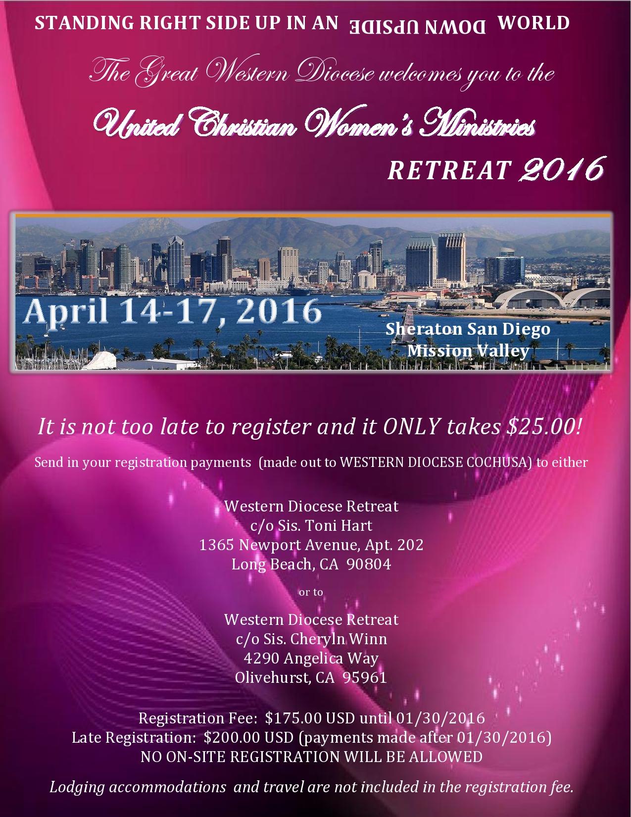 2016 UCWM REMINDER Retreat Flyer